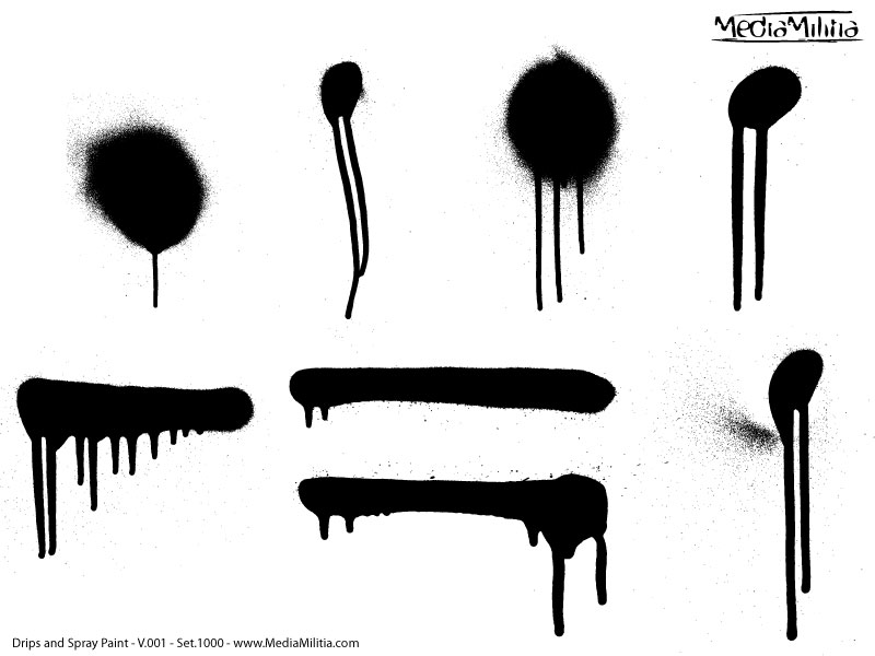 drips and spray paint pack 30 free vectors media militia rh mediamilitia com spray paint vector free download spray paint vector free download