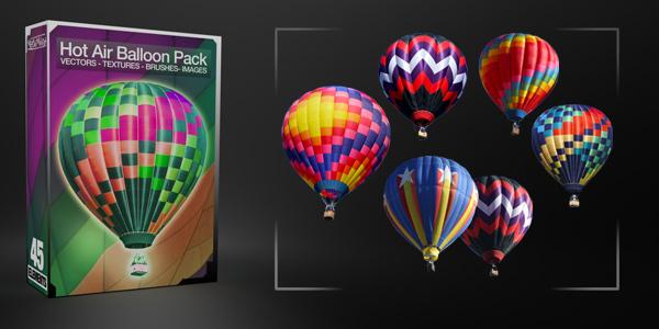 Hot Air Balloon Pack - Media Militia