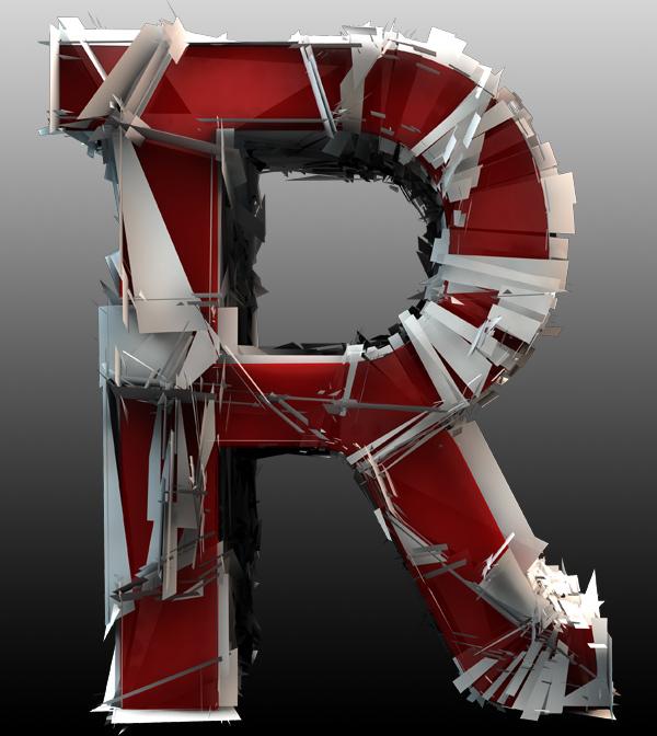 Shattered 3D Font – Free | Media Militia