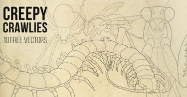 Creepy Crawlies Vector Pack