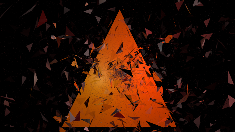 Abstract Triangles - Free Download