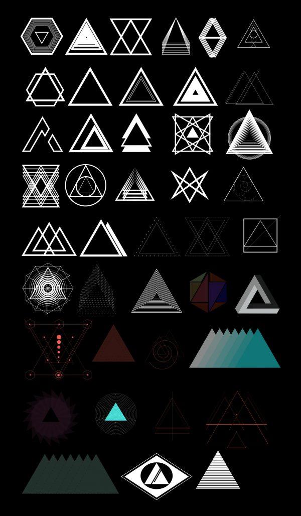 traingle-shapes---free---sample