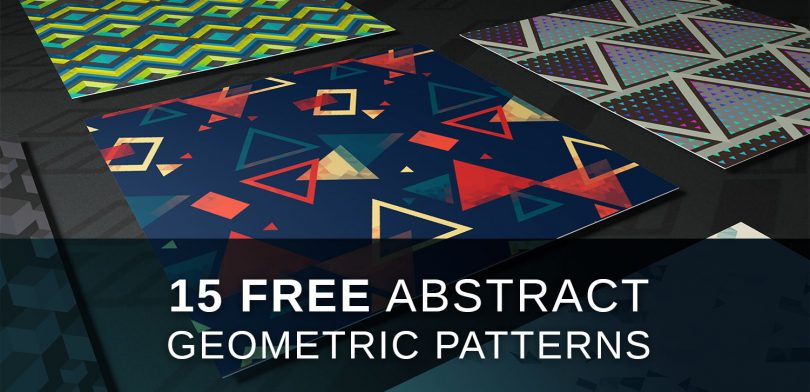 Free abstract geometric tiling patterns